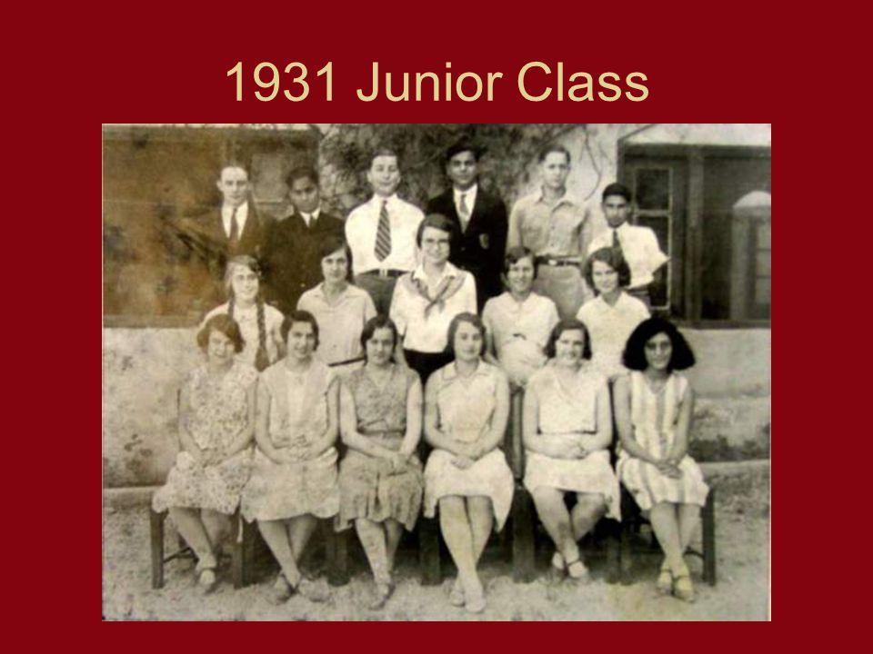 1931 Junior Class