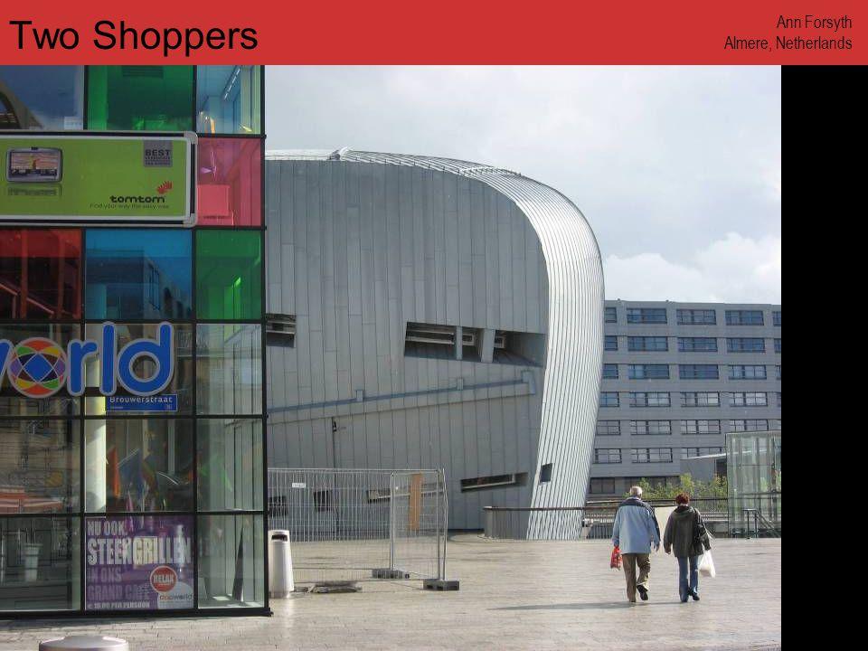 www.annforsyth.net Walkway between Buildings Ann Forsyth Almere, Netherlands