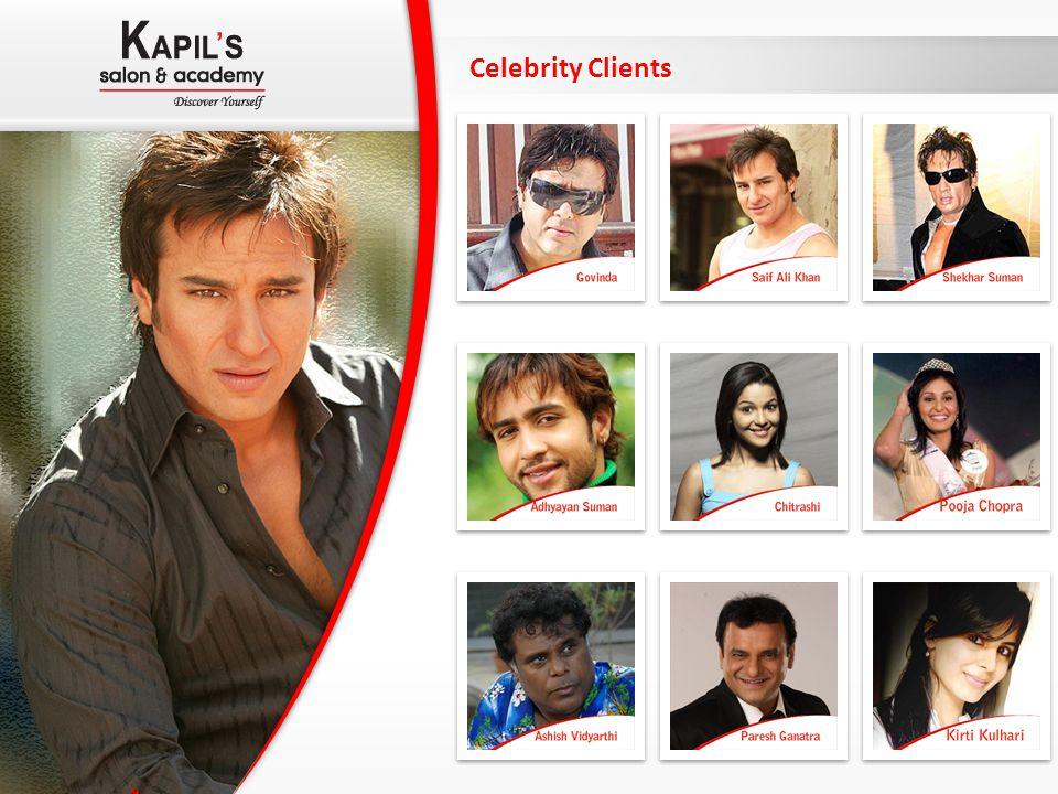 Celebrity Clients