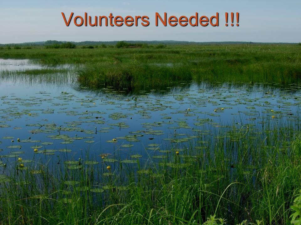 Volunteers Needed !!!