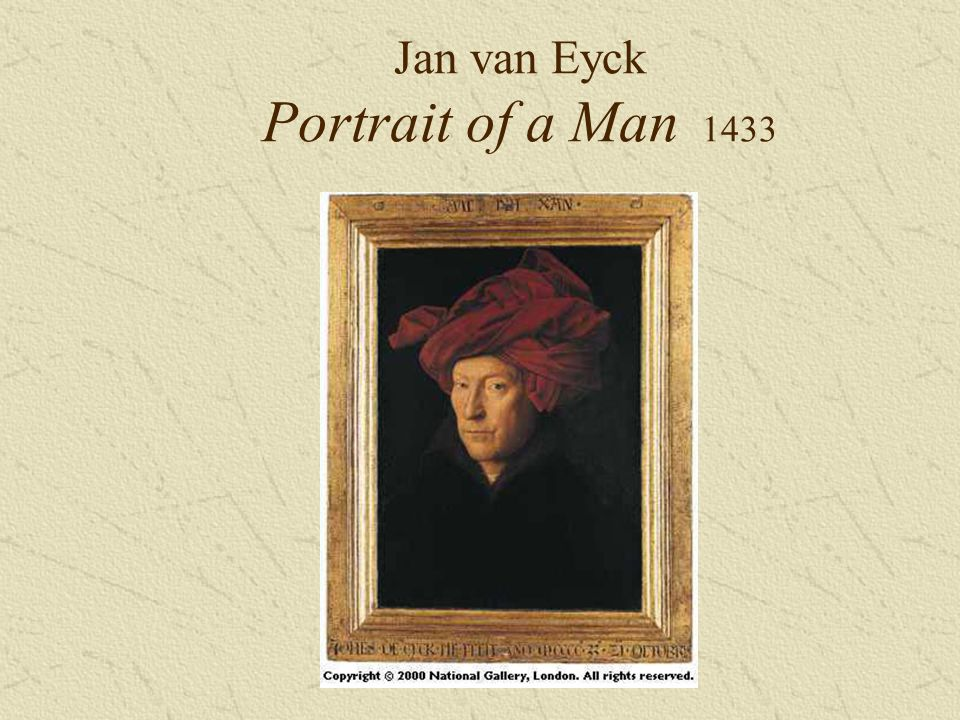 Jan van Eyck Portrait of a Man 1433