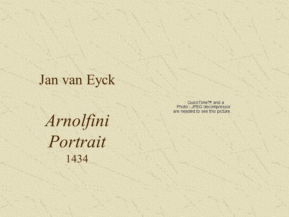 Jan van Eyck Arnolfini Portrait 1434
