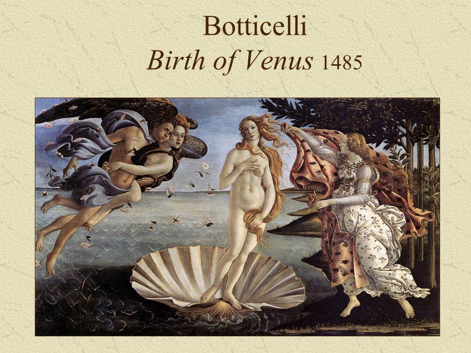 Botticelli Birth of Venus 1485