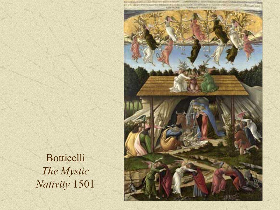 Botticelli The Mystic Nativity 1501