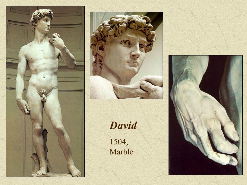 David 1504, Marble