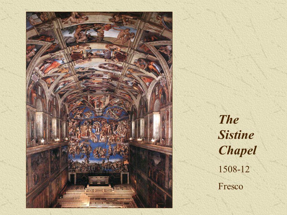 The Sistine Chapel 1508-12 Fresco