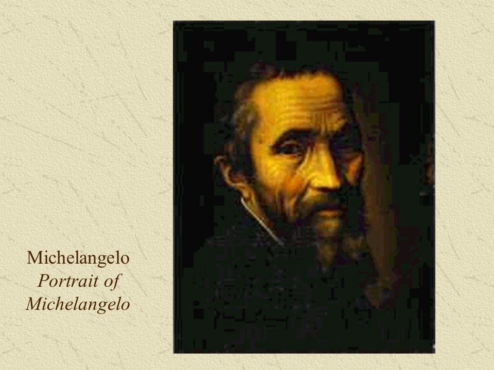 Michelangelo Portrait of Michelangelo