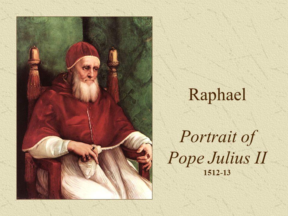 Raphael Portrait of Pope Julius II 1512-13