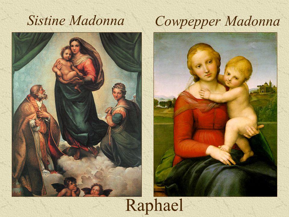 Raphael Sistine Madonna Cowpepper Madonna