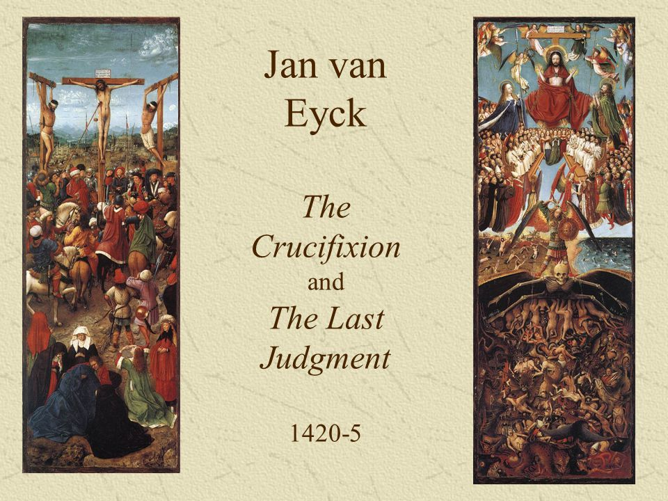 Jan van Eyck The Crucifixion and The Last Judgment 1420-5