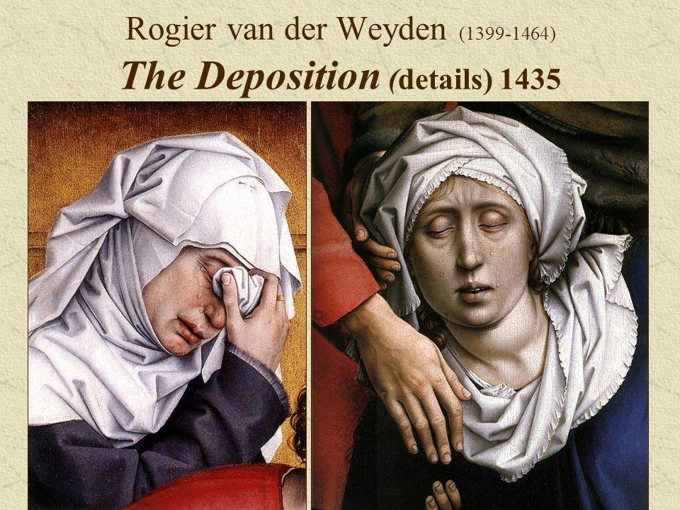 Rogier van der Weyden (1399-1464) The Deposition (details) 1435