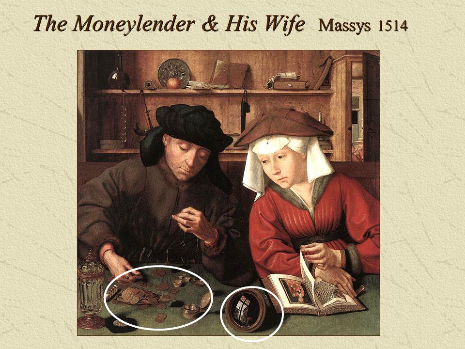 The Moneylender & His Wife Massys 1514