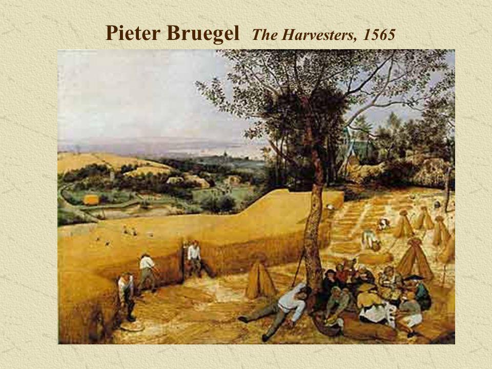 Pieter Bruegel The Harvesters, 1565