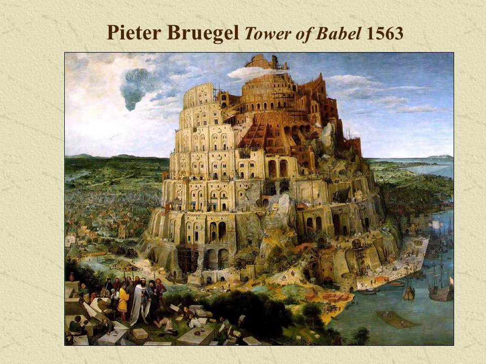 Pieter Bruegel Tower of Babel 1563