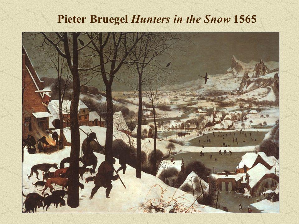 Pieter Bruegel Hunters in the Snow 1565