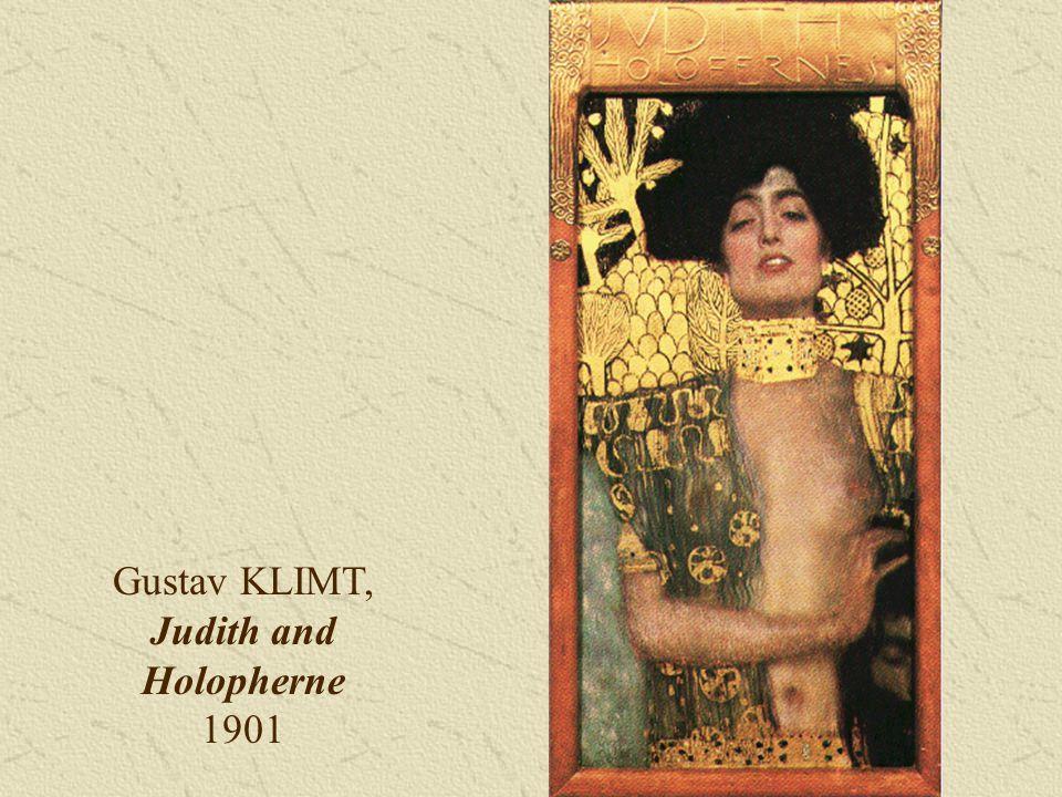 Gustav KLIMT, Judith and Holopherne 1901