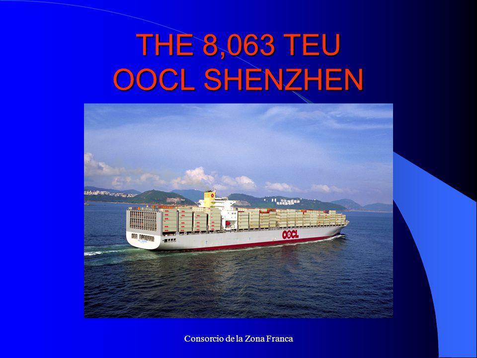 Consorcio de la Zona Franca THE 8,063 TEU OOCL SHENZHEN