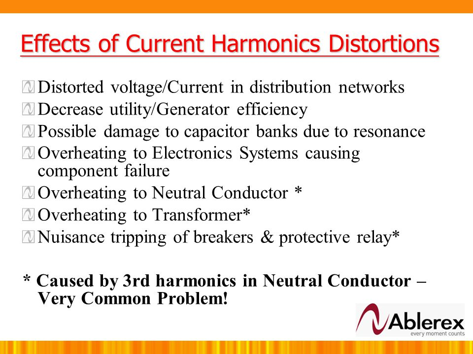 Total Harmonics Distortion-Current To measure Current Distortion, we use THDi (Total Harmonics Distortions Current) THDi is define as: THDI is a measu