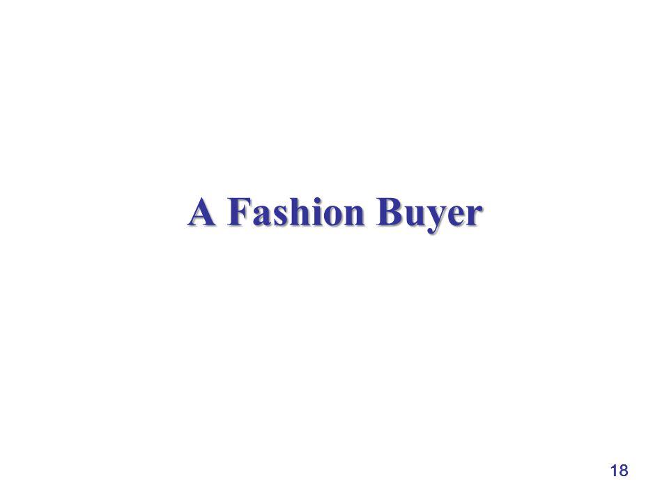 18 A Fashion Buyer