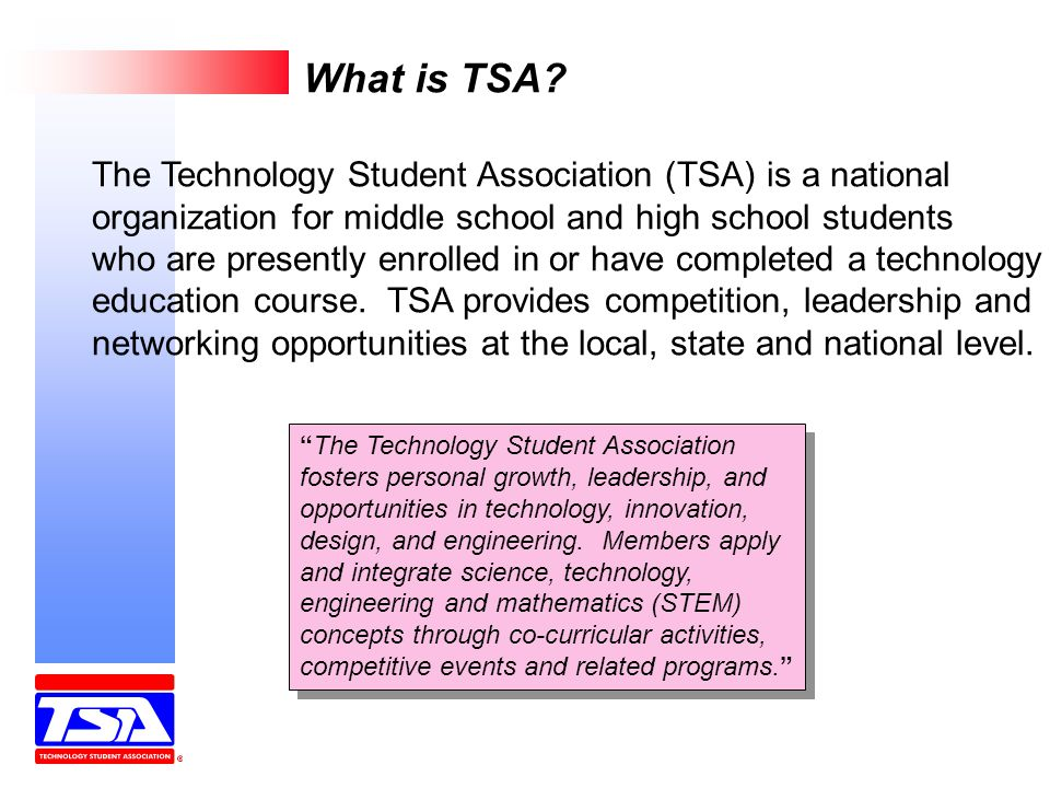 What is TSA.