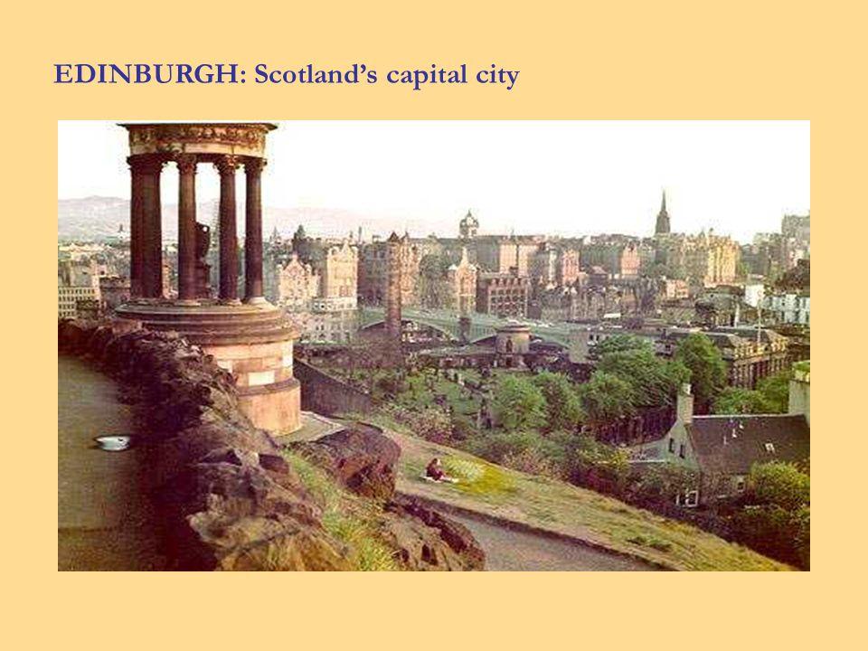 EDINBURGH: Scotlands capital city