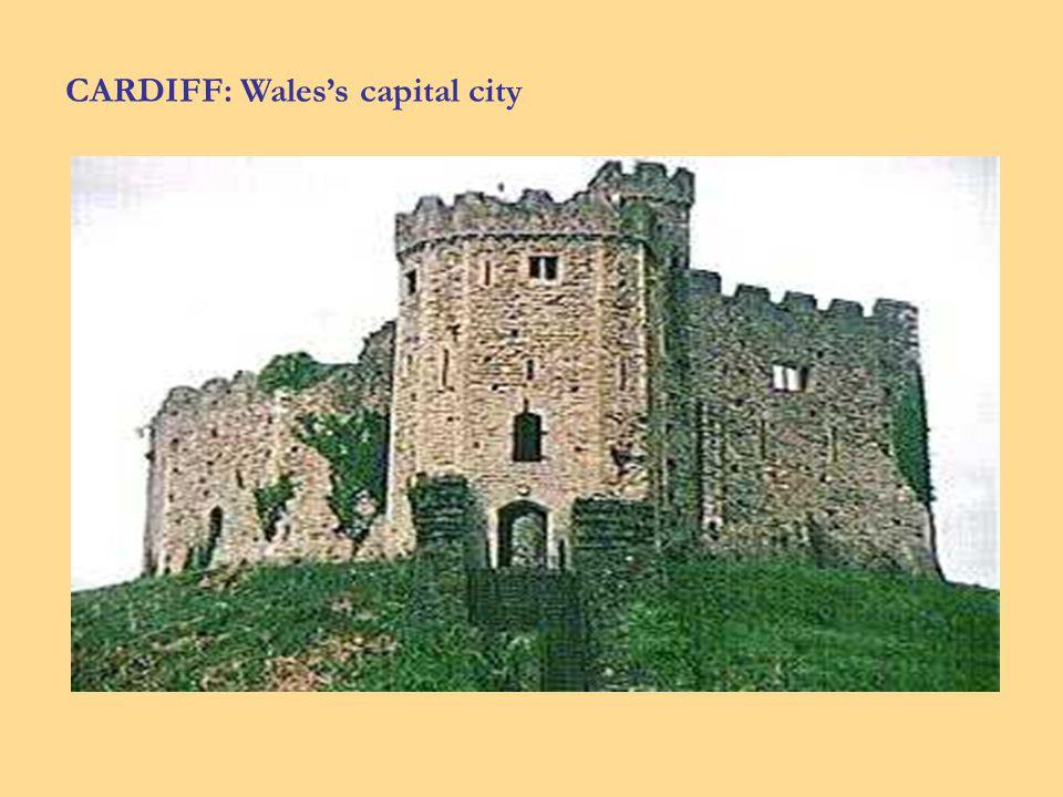 CARDIFF: Waless capital city
