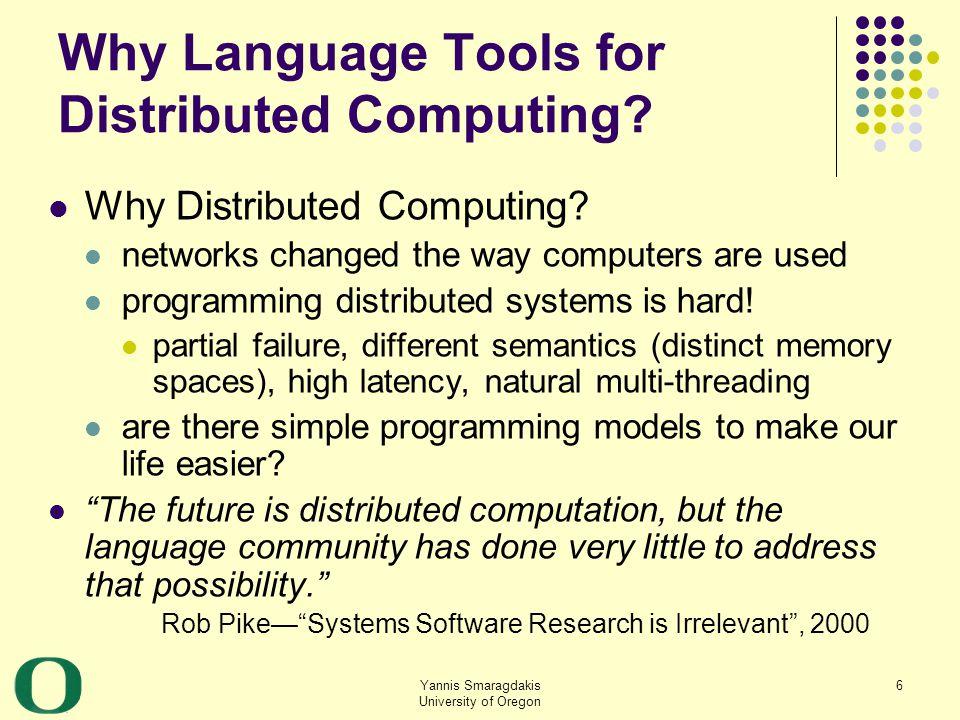 Yannis Smaragdakis University of Oregon 57 Retrospective: What Helped Solve the Problem.