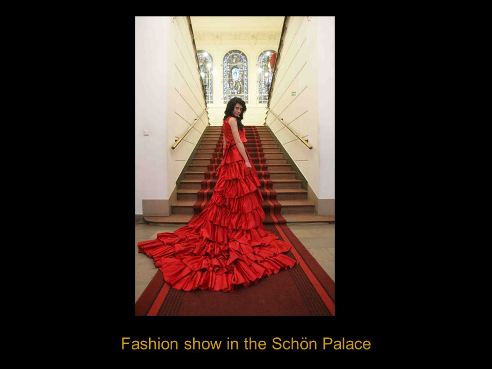 Fashion show in the Schön Palace