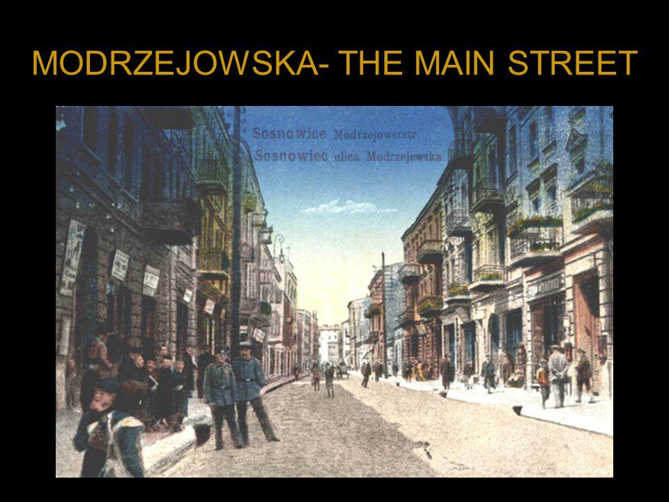 MODRZEJOWSKA- THE MAIN STREET