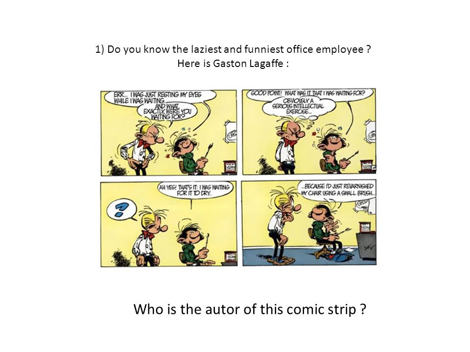 Clue n.1 : It isnt Hergé .