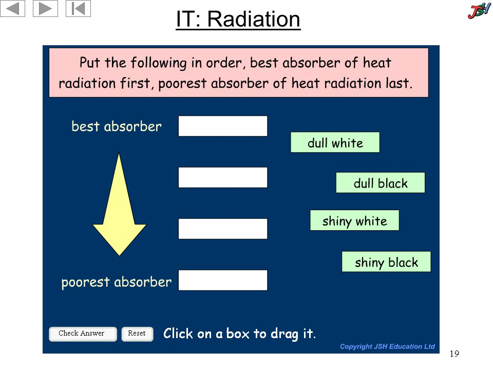 19 IT: Radiation