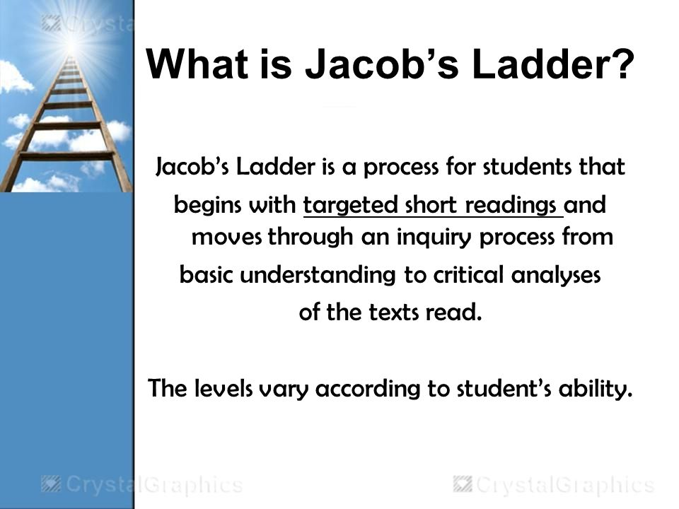 What is Jacobs Ladder.