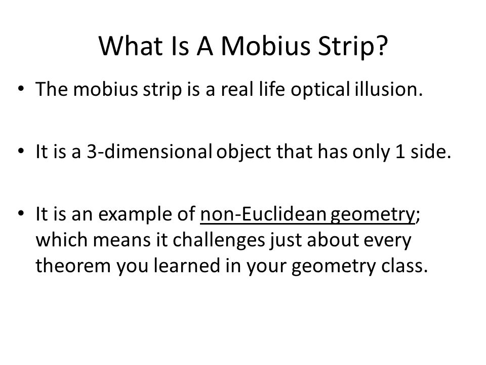 What Does A Mobius Strip Look Like?