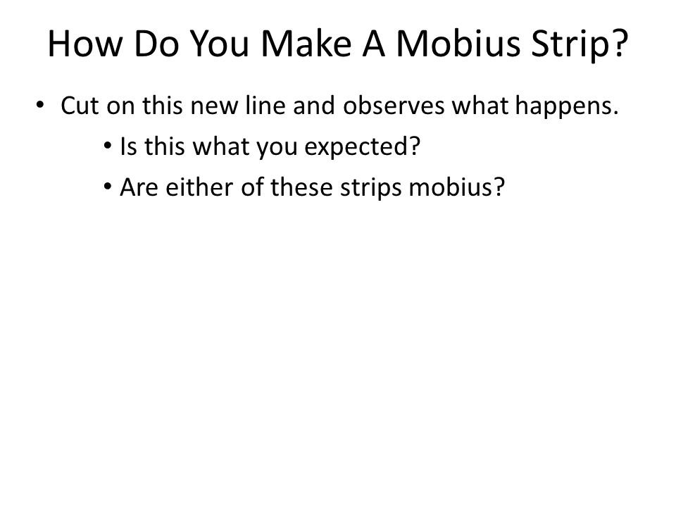 Where Are Mobius Strips Used In The Real World? Fashion