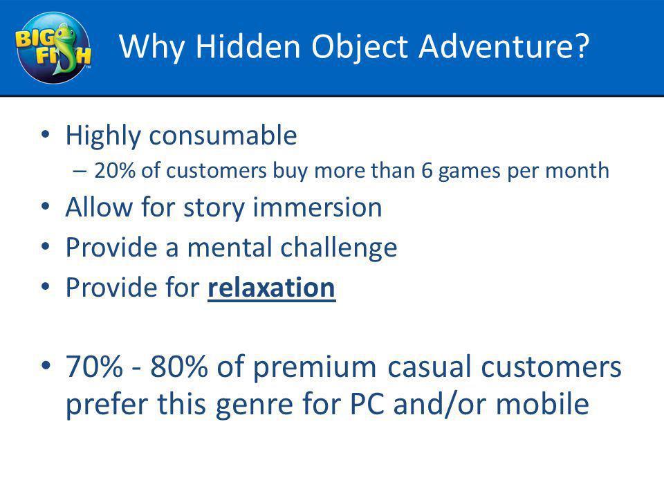Why Hidden Object Adventure.