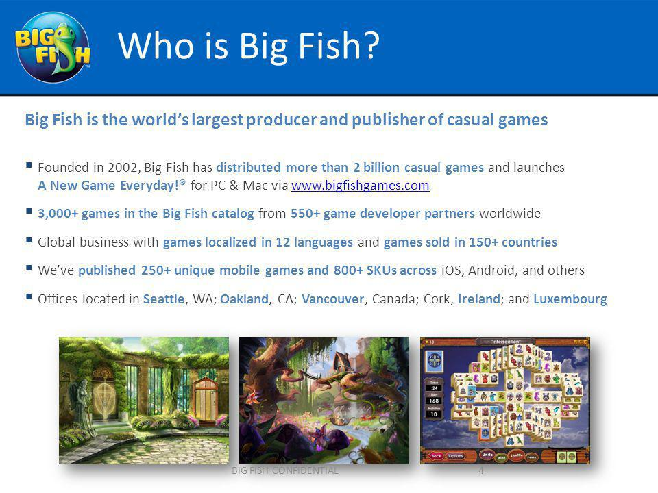 Who is Big Fish.