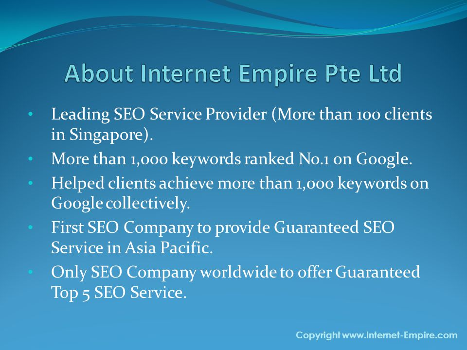 Our SEO Clients Copyright www.Internet-Empire.com Rikvin.com Rikvin.com specializes in company incorporation.