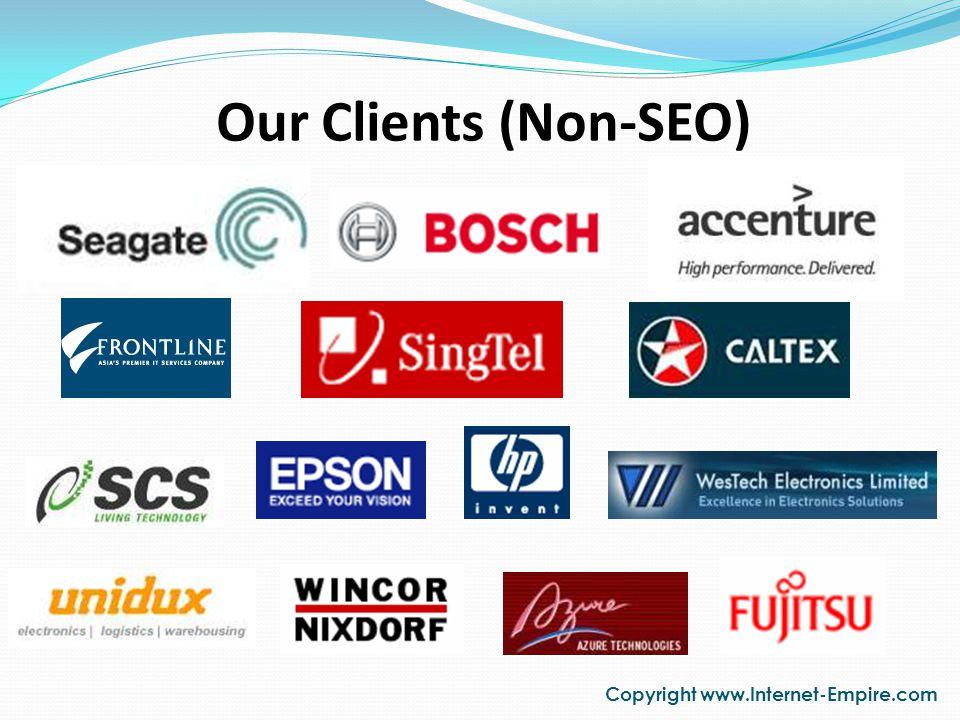 Our SEO Clients Copyright www.Internet-Empire.com AscentEnt.com Ascent ENT specializes in Ear, Nose & Throat consultation.