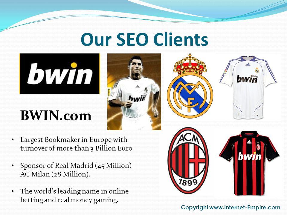 Our SEO Clients Copyright www.Internet-Empire.com HVSChina.Com.Cn HVS China specializes in hotel valuation services.