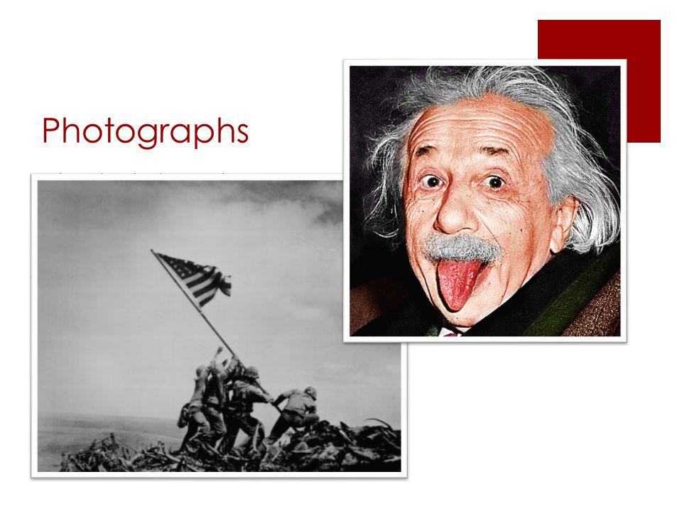 Photographs Iconic photographs