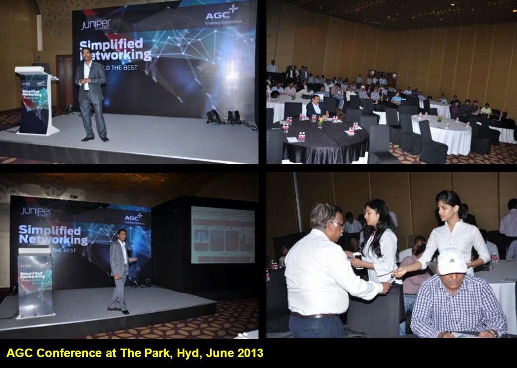 AGC Conference at The Park, Hyd, June 2013