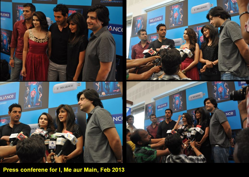 Press conferene for I, Me aur Main, Feb 2013 I, Me aur Main