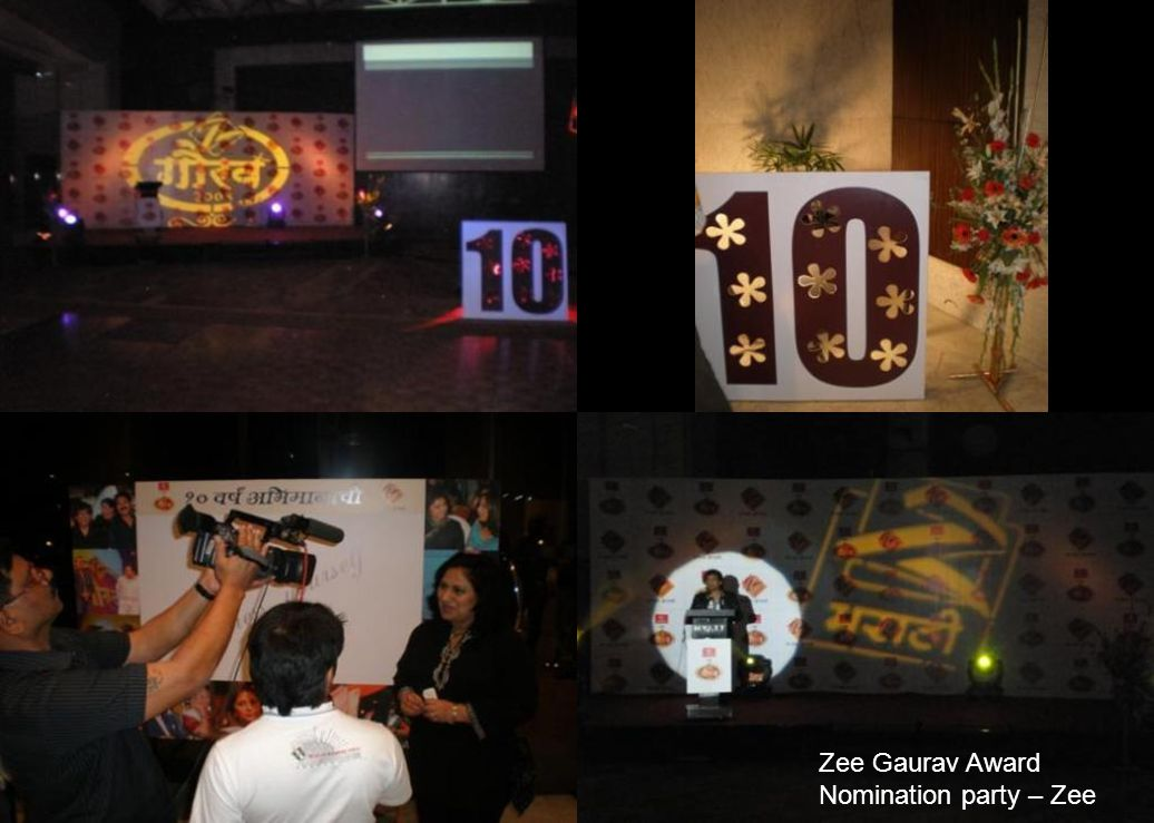 Zee Gaurav Award Nomination party – Zee
