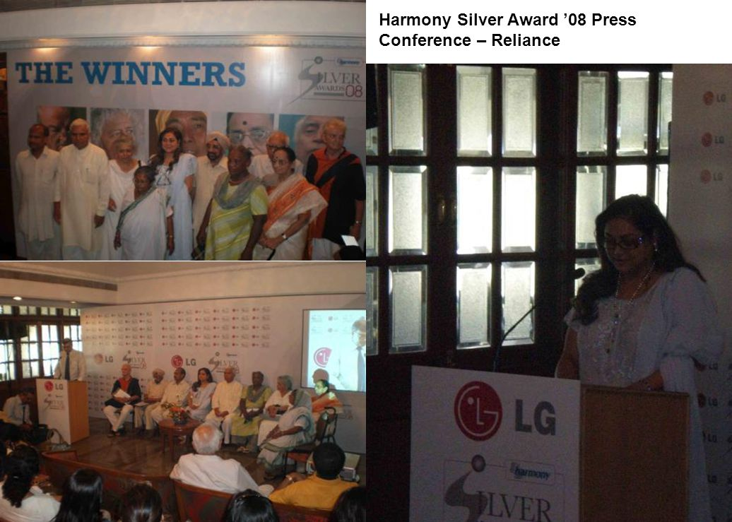 Harmony Silver Award 08 Press Conference – Reliance