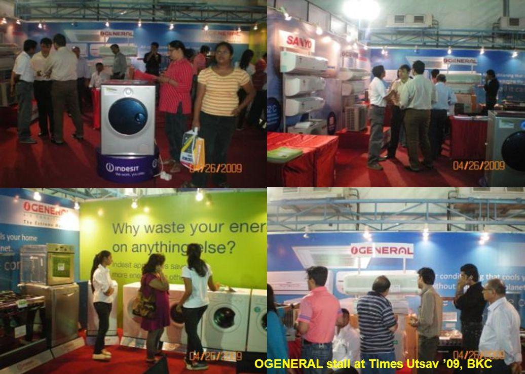 OGENERAL stall at Times Utsav 09, BKC