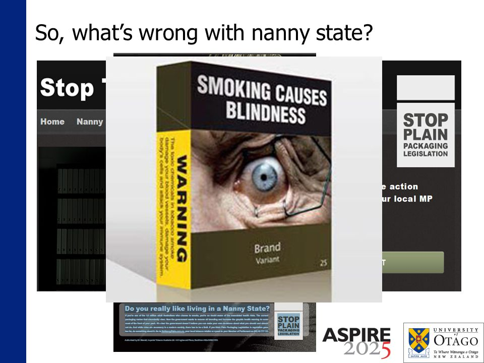 So, whats wrong with nanny state?