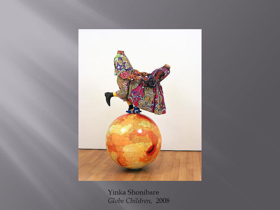 Yinka Shonibare Globe Children, 2008