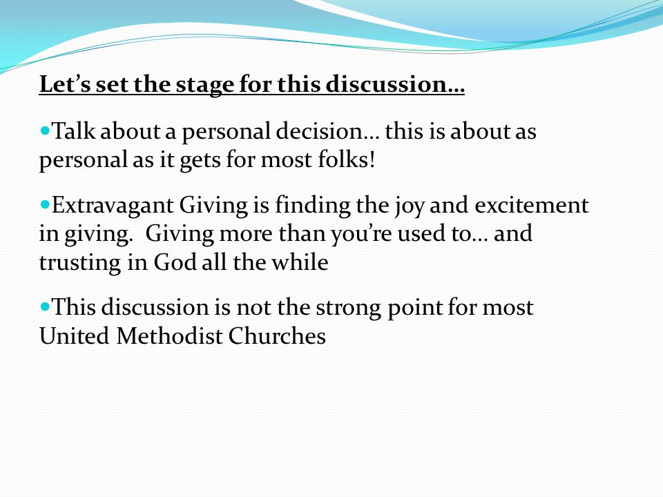 Lets set the stage for this discussion… Talk about a personal decision… this is about as personal as it gets for most folks.