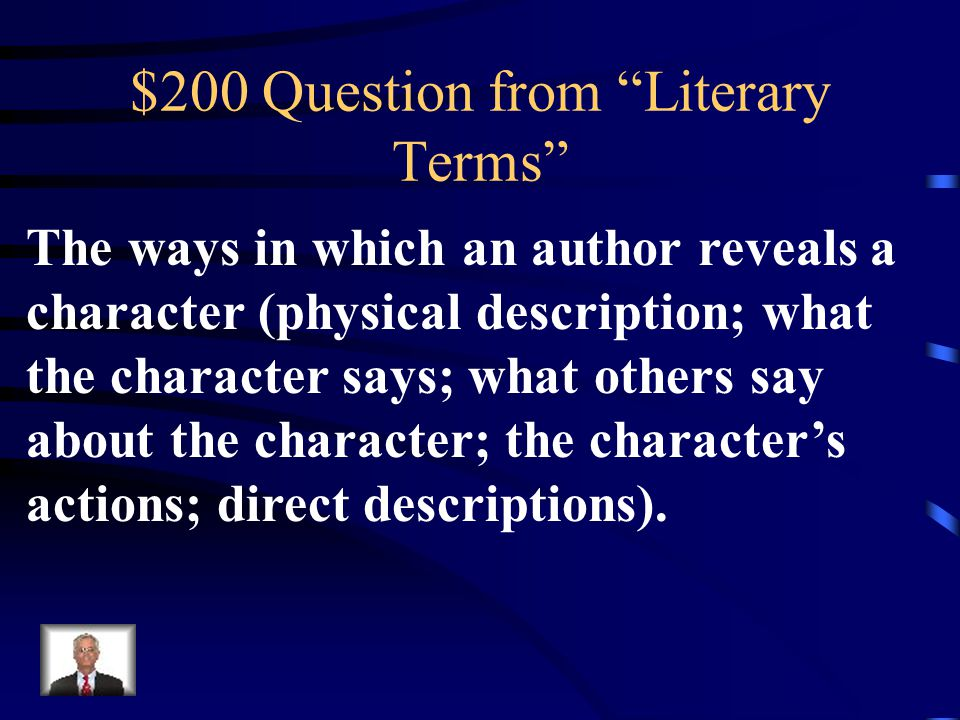 $100 Answer from Literary Terms What is an Allusion?