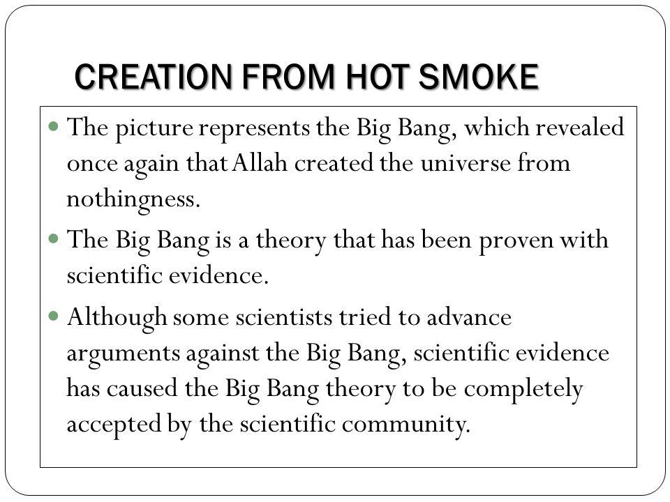 CREATION FROM HOT SMOKE 5.Dr. Mazhar U.